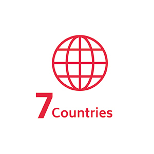 7 countries